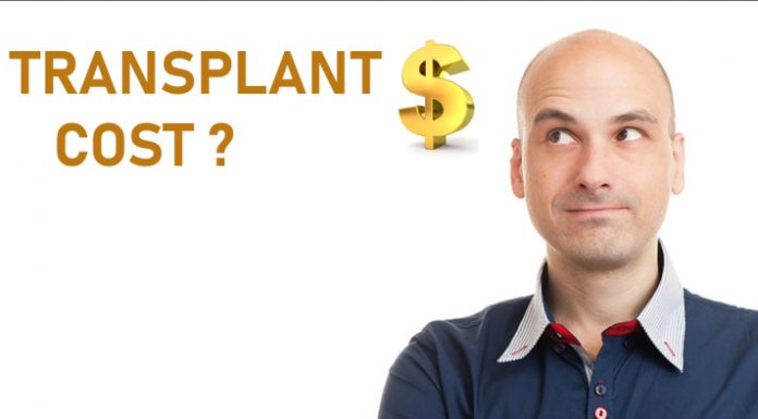 average cost of hair transplant